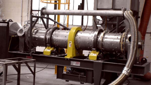 Heyl Patterson Rotary Dryer Lab Testing